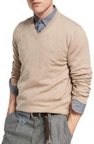 Brunello Cucinelli Cashmere V-Neck Sweater
