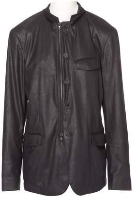 John Varvatos Grey Polyester Jackets