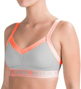 RBX Flexible Fit Sports Bra - Medium Impact, Molded Cups, Convertible Straps (For Women)