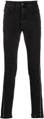 Class Roberto Cavalli Stripe Detail Slim-Fit Jeans