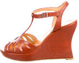 Robert Clergerie Platform Cut-Out Wedges