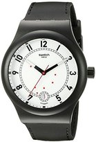 Swatch Unisex SUTB402 Originals Analog Display Swiss Automatic Black Watch