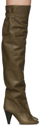 Isabel Marant Khaki Likita Boots