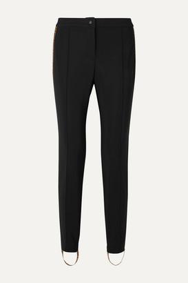 Fendi Jacquard-trimmed Stirrup Ski Pants - Black