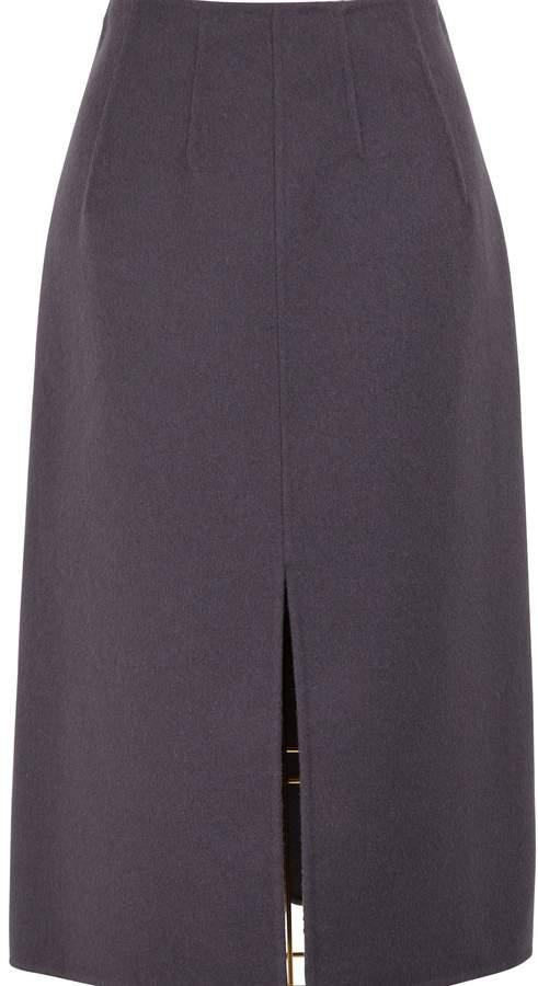 Bottega Veneta Cashmere straight skirt