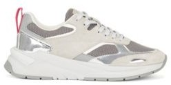 HUGO BOSS Hybrid trainers with metallic details