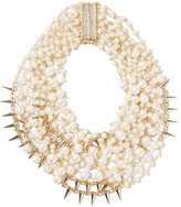 Rosantica Contrasti Gold-tone Pearl Necklace - one size