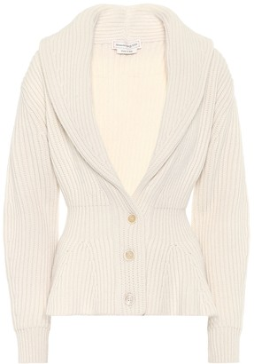 Alexander McQueen Wool and cashmere cardigan