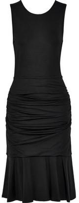 Diane von Furstenberg Jace Ruched Stretch-jersey Dress