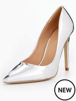 Very Chic Point Court Shoe Mirror - Metallic