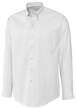 Cutter & Buck Men's Long Sleeve Nailshead Shirt