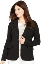 Lauren Ralph Lauren Plus Size Sweater Blazer