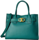 Tory Burch Gemini Link Leather Tote Tote Handbags