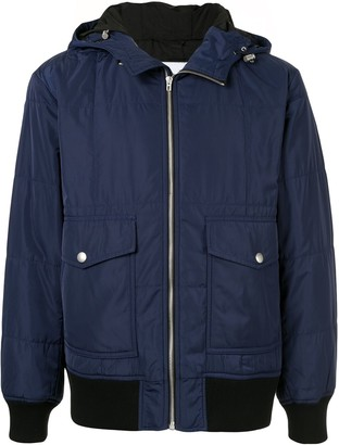CK Calvin Klein hooded light jacket