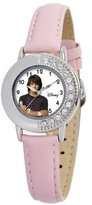Disney Kids' D656S410 Joe Jonas Pink Leather Strap Watch