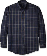 Arrow Men's Big and Tall Long Sleeve Heritage Twill Shirt