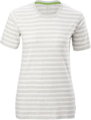 Kathmandu Striped Womens Short Sleeve Crew T-Shirt