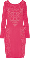 Temperley London Raya open-knit dress