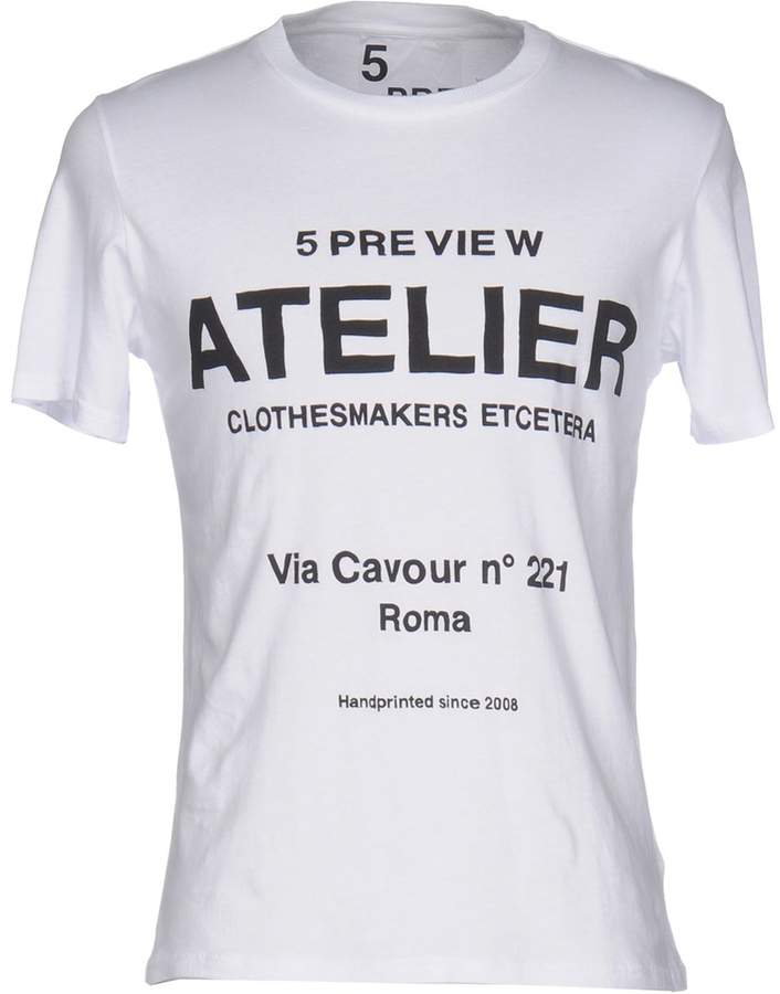 5Preview T-shirts - Item 12027054