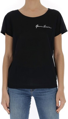 Versace GV Signature Embroidered T-Shirt