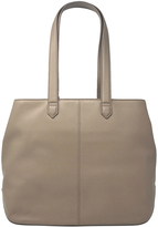 DKNY Taupe Nappa Leather Tote