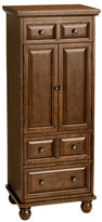 Pier 1 Imports Ashworth Chestnut Brown Jewelry Armoire