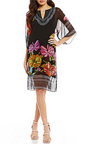 Trina Turk Joceline Printed Caftan Dress