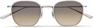 The Row + Oliver Peoples Board Meeting 2 Square-Frame Titanium And Acetate Optical Glasses