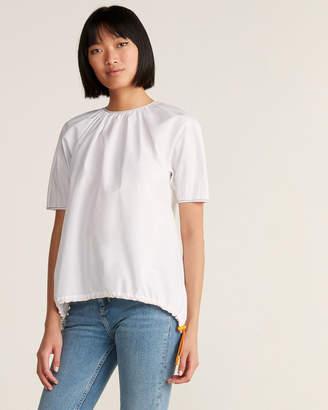 Marni Contrast Stitch Cotton Blouse