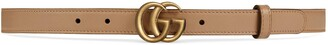 Gucci Thin belt with Double G buckle