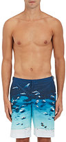 "Orlebar Brown Men's ""Boat Party"" Dane II Swim Trunks-BLUE"