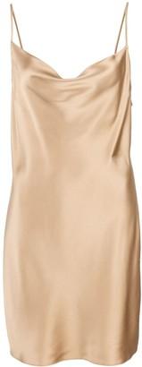 Fleur Du Mal short slip dress
