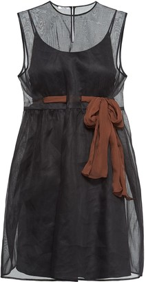 Miu Miu Organdie sheer dress