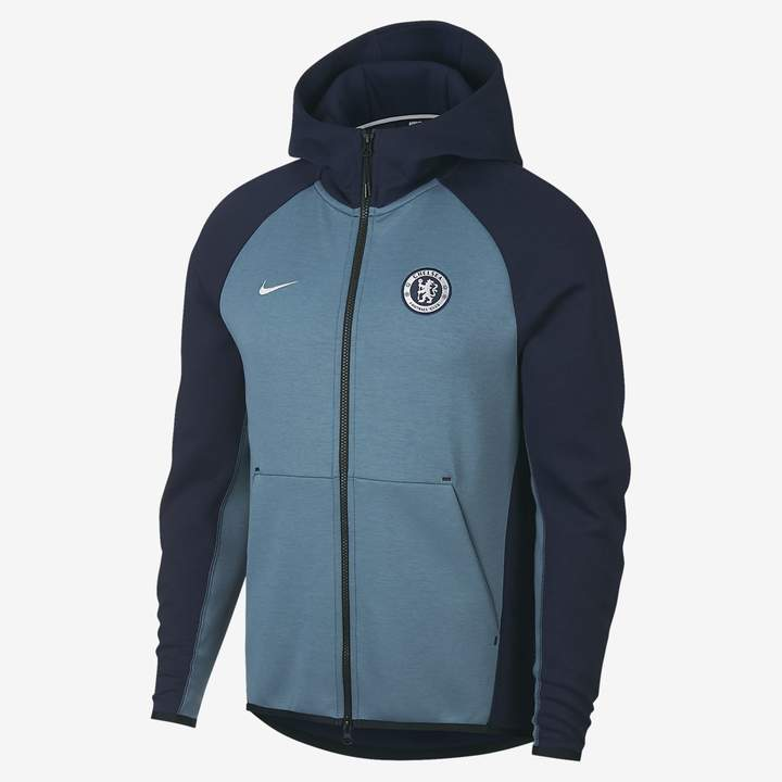 Nike Chelsea FC Tech Fleece Men's Full-Zip Hoodie