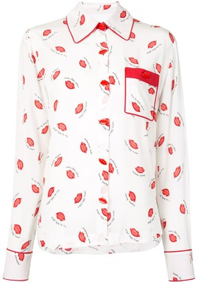Alice McCall Invincible Kisses shirt