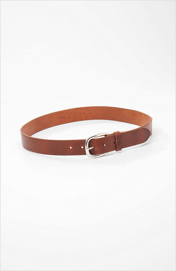 J. Jill Cognac leather belt
