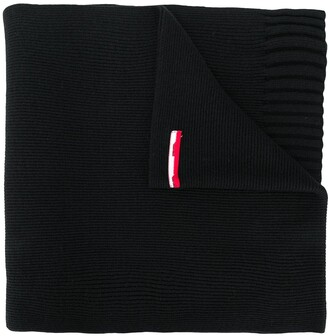 MSGM Long Knitted Scarf