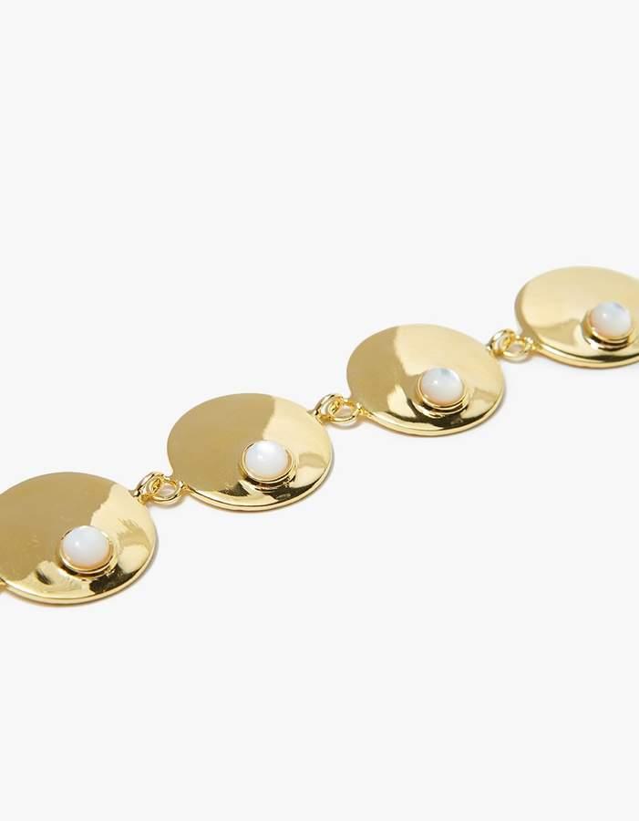 Lizzie Fortunato Modern Tennis Bracelet