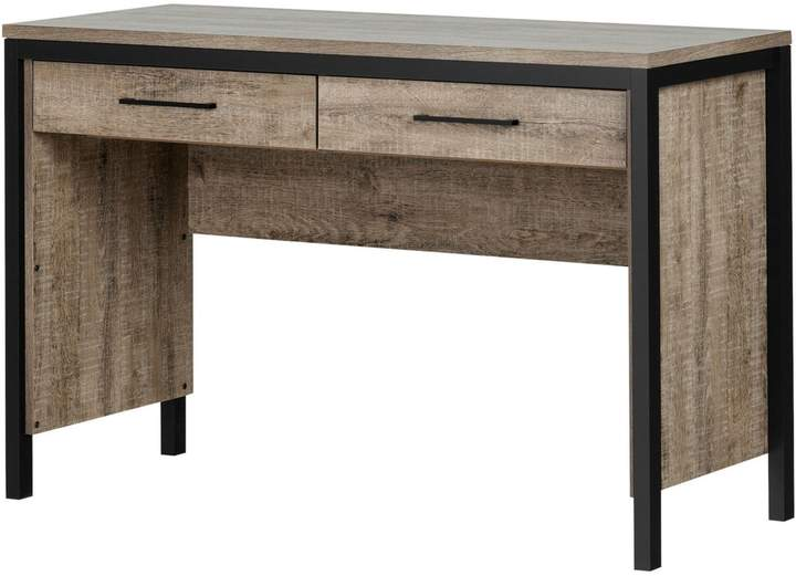 Munich South Shore Desk With Drawers
