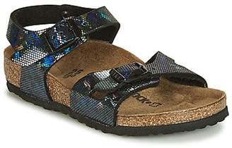 Birkenstock RIO girls's Sandals in Black