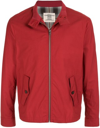 Kent & Curwen zip-front lightweight jacket
