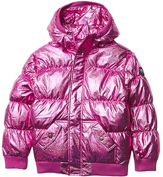 Appaman Kids Thick Puffy Coat (Infant/Toddler/Little Kids/Big Kids) (Silver Illusion) Girl's Clothing