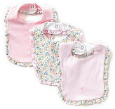 Ralph Lauren 3-Pack Ruffled Bibs