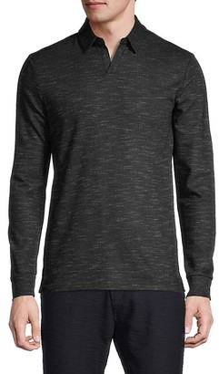 Antony Morato Long-Sleeve Wool-Blend Polo