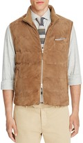 Eleventy Suede Puffer Vest - 100% Bloomingdale's Exclusive