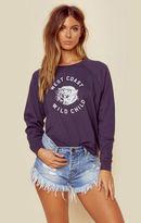 Amuse Society west coast wild child pullover