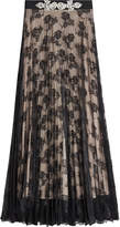 Christopher Kane Lace Skirt with Embellishment