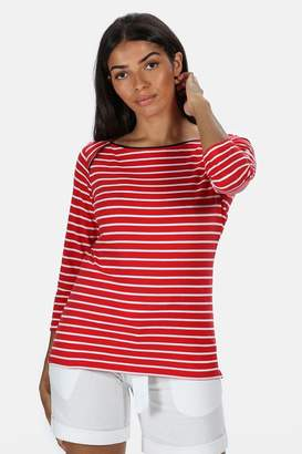 Regatta Womens Polina Long Sleeve T-Shirt - Red