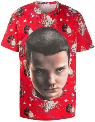 Ih Nom Uh Nit Stranger Things print T-shirt