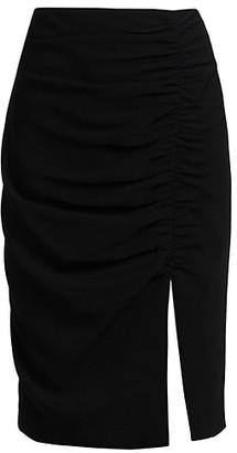Cinq à Sept Sam Side Slit Pencil Skirt